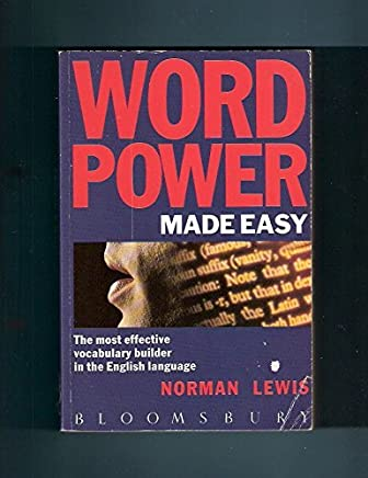 Word Power Made Easy: Most Effective Vocabulary Builder in the English Language by Norman Lewis (1990-09-24)