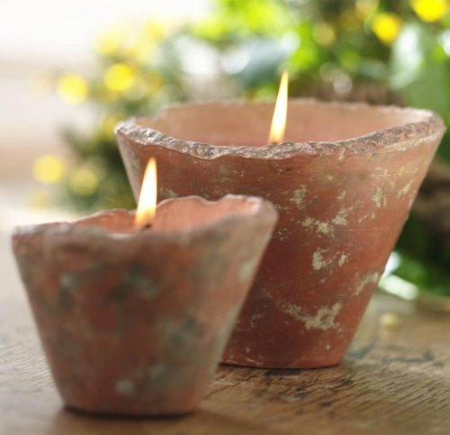 St Eval English Hedgerow Scented Candle Pot (large) - Indoor/outdoor - Citronella