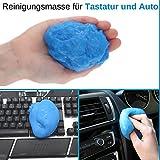 Universal Staubreiniger für Tastatur, Maus, Laptop, Handy, Auto Innenraum, universal verwendbar,...