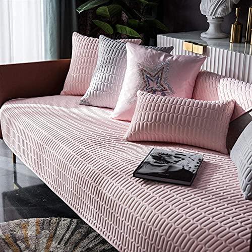 L.TSA Fundas elásticas Fundas de sofá, látex Natural Toalla de sofá Cojín de sofá Antideslizante Engrosado Transpirable-A_70x120cm, Fundas de sofá Protector contra el Polvo