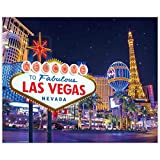 Allenjoy 10x8ft Las Vegas Night Backdrop Decorations Fabulous Casino Poker Movie Themed Vintage Costume Dress-up Birthday Prom Ceremony Supplies Favors Decor Banner Props Photography Studio Background