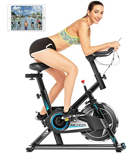 ANCHEER Exercise Bike Stationary Now $137.99 Shipped