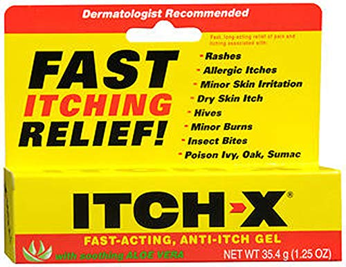 ITCH-X Anti-Itch Gel 1.25 oz (Pack of 3)