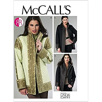 McCall/'s 4222 Misses/'//Miss Petite Jacket and Coat   Sewing Pattern