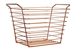 Premier Housewares Shine Wire Basket