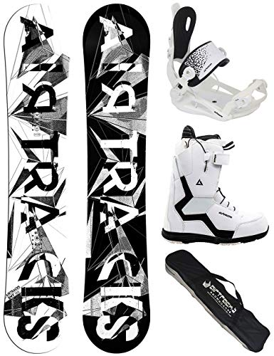 Airtracks Damen Snowboard Set/BWF Lady 140 + Snowboard Bindung Master + Snowboardboots Savage W 39 + Sb Bag