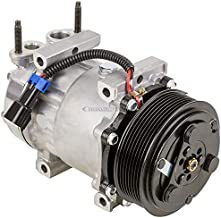AC Compressor & 120mm 8-Groove A/C Clutch For International Replaces 3582435C1 Sanden SD7H15 4418 4819 - BuyAutoParts 60-02320NA New
