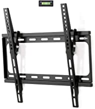 Fleximounts Tilt TV Wall Mount Bracket for most 26-55 Inch Max 400x400mm for Flat Screen up to 66lbs