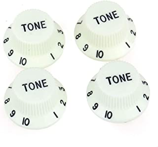 Musiclily Pro Imperial Inch Size Tone Control Knobs for USA Made Strat Style Electric Guitar, Mint Green (Set of 4)
