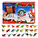 Dkinghome Christmas Advent Calendar 2020,Unique Style 24PCS Dinosaurs Toy Christmas Countdown Surprise Gift for Kids Boys and Girls