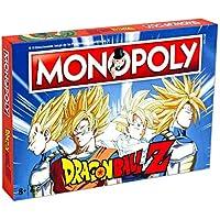 DRAGON BALL- Monopoly Z Drago Ball Juego, Multicolor (ELEVEN FORCE 63683)
