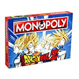 DRAGON BALL- Monopoly Z Drago Ball Juego, Multicolor (ELEVEN FORCE...