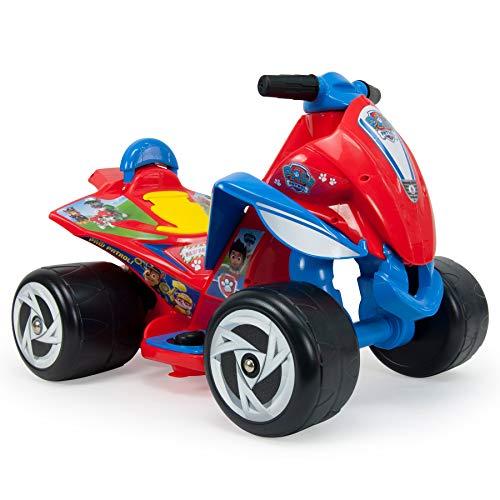 INJUSA - Quad Wings Paw Patrol 6V Color Rojo con Acelerador en Pie y Ruedas Anchas de Plástico Recomendado a Niños de 1 a 3 Años