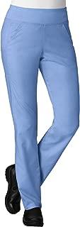 Maevn Women's EON Yoga 7-Pocket Scrub Pant(Ceil Blue, Medium)