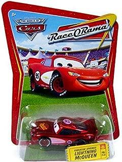 Disney / Pixar CARS Movie 1:55 Die Cast Car Series 4 Race-O-Rama Radiator Springs Lightning McQueen (Pink Paint Variation)