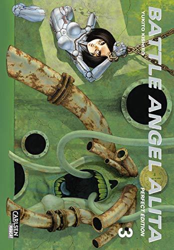 Battle Angel Alita - Perfect Edition 3: Hochwertige Neuausgabe des epischen Science-Fiction-Mangas (3)