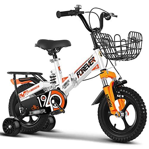 MIAOYO Plegable Bicicleta Al Aire Libre con Ruedas De Entrenamiento,Plegable Bicicleta Infantil...
