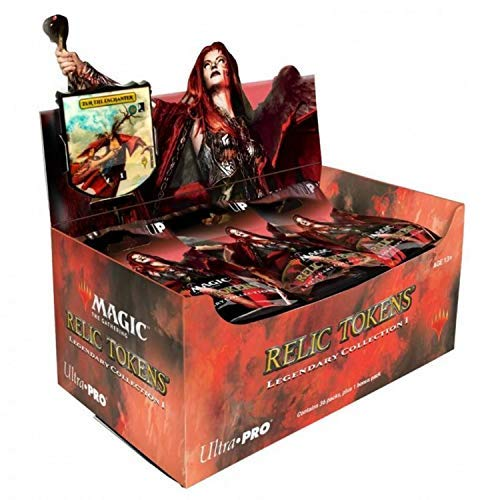 Ultra Pro ULP86955 Magic The Gathering Relic Tokens Legendary Board Game - 36 Piece