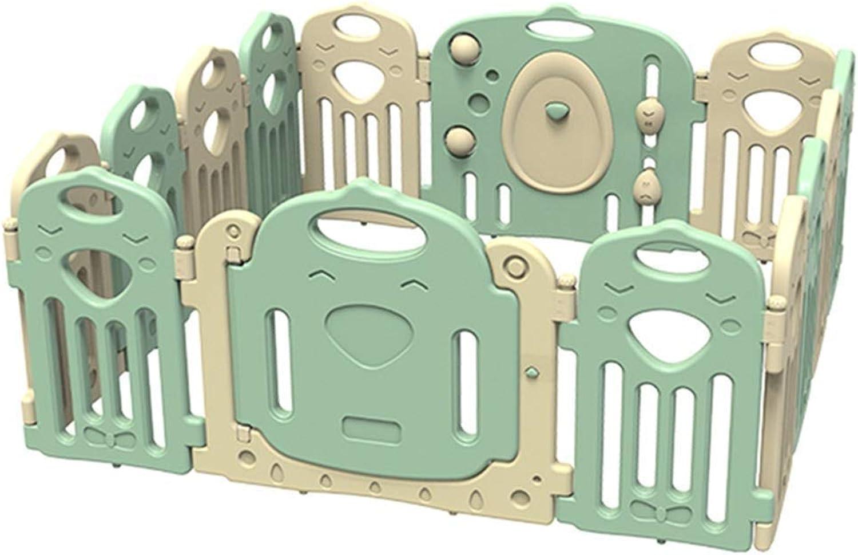 Baby Game Plastic Fence Folding Portable Amusement Park (Size   14 pcs  150x150x62cm)