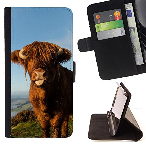 FJCases Cow Animal Slim Wallet Card…