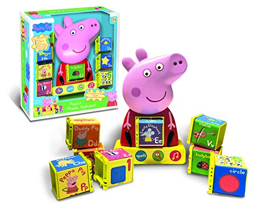 Peppa Pig PP12 Phonic Alphabet Toy, Various