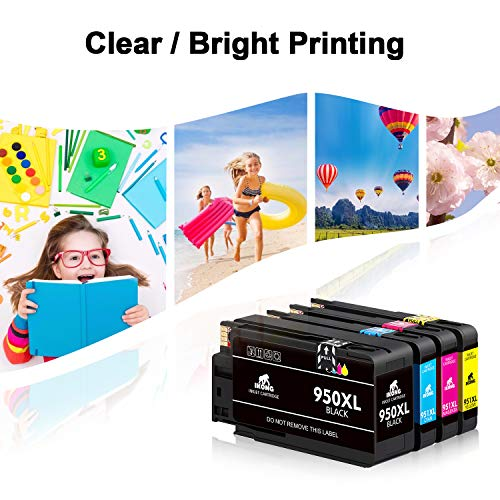 IKONG Compatible Ink Cartridge Replacement for HP 950XL 951XL 950 951 Ink Cartridge Works with HP OfficeJet Pro 8600 8610 8620 8100 8630 8660 8640 8615 8625 276DW 251DW 271DW Photo #3
