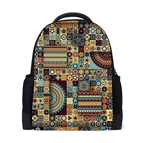 Ruchen zaino scolastico università borsa elegante palestra viaggio zaino casual 40,6 cm Stile 2 16Inch