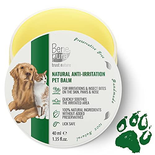 Bene Pura Trust Nature Bálsamo para Mascotas 100% Natural Anti-irritación - para Patas, Nariz y Piel - para Perros y Gatos