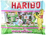 Haribo Happy Hoppers Gummi Candy Individually Wrapped for Easter Egg Hunts and Basket Fillers, 9.5 oz (2 Pack) from