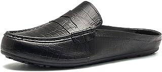 [JIANXI] ドクタースリッパ ドクターサンダル ビジネスサンダル ビジネススリッパ オフィスサンダル モカシンサンダル カジュアル スリッポン メンズ サンダル 通気 軽量 紳士靴 男性
