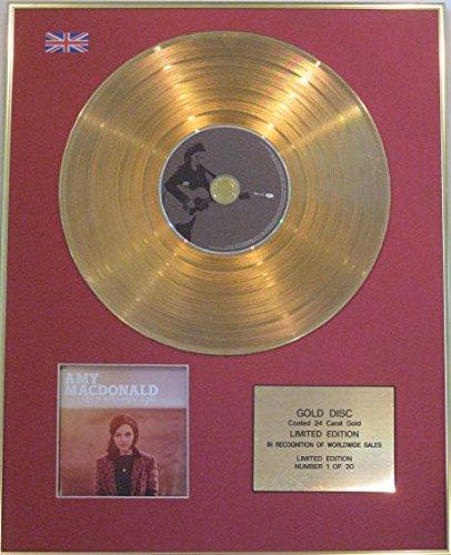 Amy MacDonald Gold 24Karat–Disco CD–Leben in eine schöne Licht