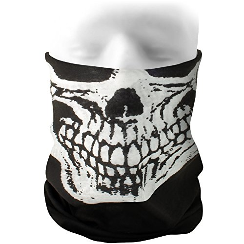 CampTeck Multifunctionele naadloze bandana hoofddoek masker Balaclava hoofdband voor motorrijden, wandelen, paardrijden, fietsen en andere outdoor-activiteiten