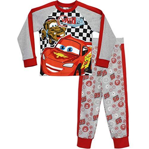 Disney Cars Jungen Lightning McQueen Schlafanzug, Mehrfarbig, 116 (Herstellergröße: 5-6 Jahre)