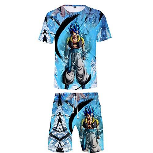 ZZBM Dragon Ball Enfants Garçon Vêtements Ensembles Shorts et Haut été T-Shirts et Tops (1,110)
