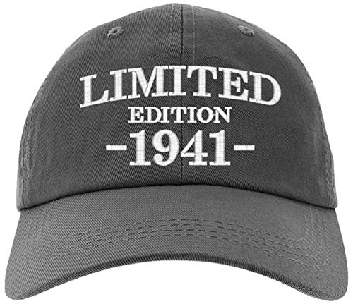 Cap 1941-80th Birthday Gifts, Limited Edition 1941 All Original Parts...