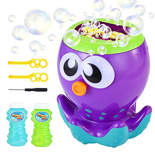 LUKAT Máquina de Burbujas automática niños, soplador de Burbujas para...