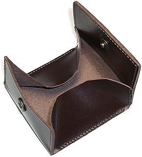 【日本製】 本革 ボックス型 コインケース 小銭入れ メンズ レディース レザー BOXタイプ