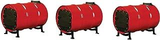 US Stove BSK1000 Cast Iron Barrel Stove Kit (Pack of 3)