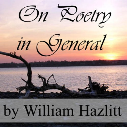 On Poetry in General audiobook cover art