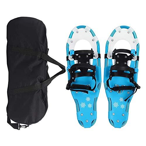 SOAR Raquetas Nieve Raquetas de nieve al aire libre, marco de aluminio, campo de nieve ligero y flexible, zapatos de nieve para caminar flexibles, zapatos de senderismo con hebilla de liberación rápid