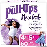 Pull-Ups New Leaf Girls' Potty Training Pants Training Underwear, 4T-5T, 60 Ct