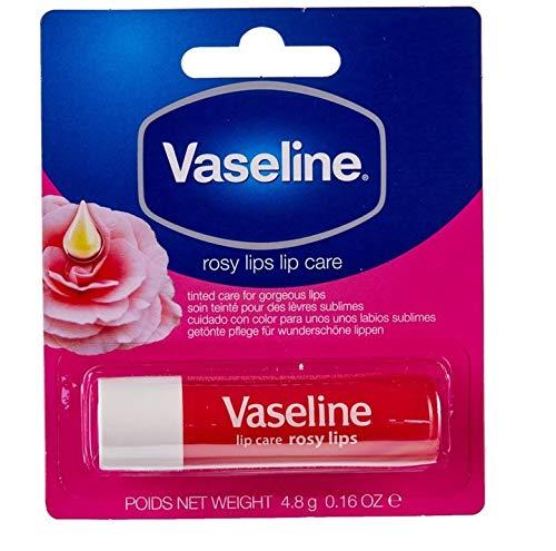 Vaseline Lipcare/Lippenstift - Rosy Lips - 6er Pack (6 x 4.8g)