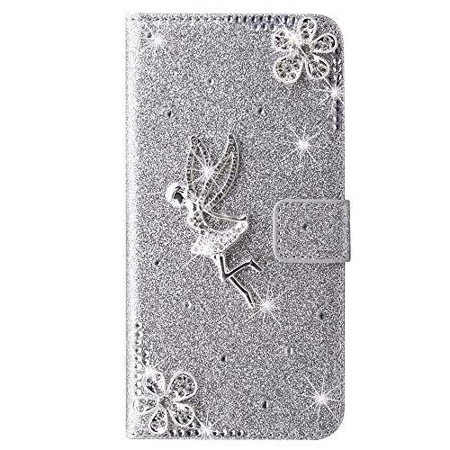 Samsung Galaxy S21+ Plus Hülle Case für Samsung S21+ Plus Tasche Crystal Glitzer...