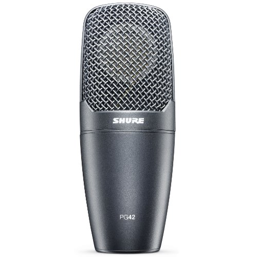 Shure PG42-LC Side-Address Cardioid Condenser Vocal Microphone (OLD MODEL)