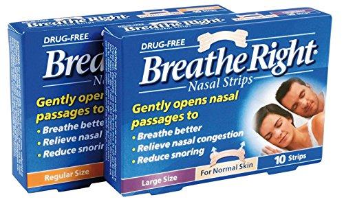 Breathe Right Tiras Nasais Mentoladas 8 Tiras