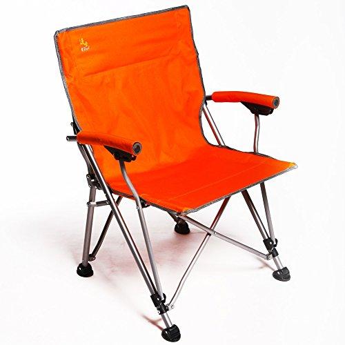 Be&xn Camping klappstuhl außen, Canvas Canvas Liegestühle Amerikanischen Lounge Chair Portable Ageln Stuhl Leisure Stuhl Liegestuhl Mond Stuhl Heavy-Duty 350 lb kapazität mit Tragetasche