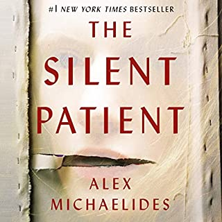 The Silent Patient                   Written by:                                                                                                                                 Alex Michaelides                               Narrated by:                                                                                                                                 Jack Hawkins,                                                                                        Louise Brealey                      Length: 8 hrs and 43 mins     323 ratings     Overall 4.5