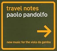 Travel Notes-New Music for Viola Da Gamba