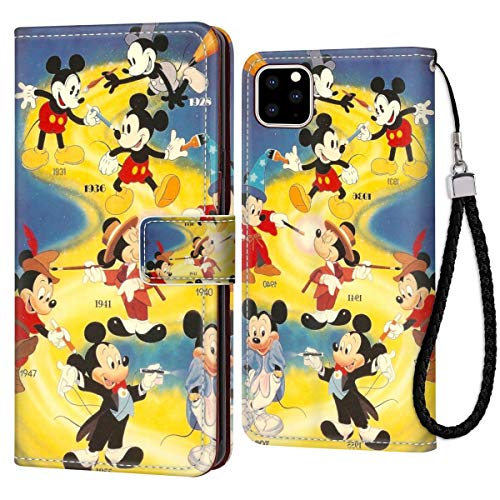 Disney Collectiondisney Collection Wallet Phone Case Iphone 11 Pro 5 8 Inch Mickey Mouse Wallpaper Premium Pu Leather Cash Card Slots Wrist Strap Lanyard Design Excellent Dailymail