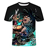 Camiseta de Manga Corta con Estampado 3D de Dragon Ball-E_M